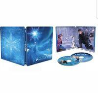 Frozen [SteelBook] [Includes Digital Copy] [4K Ultra HD Blu-ray/Blu-ray] [2013]