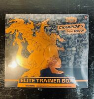 POKEMON Champion's Path Elite Trainer Box ETB TCG FACTORY SEALED - FREE SHIPPING