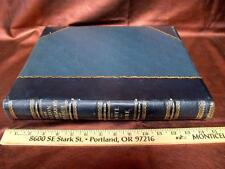 DANTE Purgatory & Paradise GUSTAVE DORE ILLUSTRATIONS Folio Leather Inferno RARE