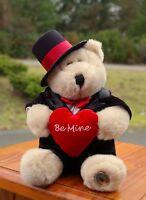 Starbucks Coffee Company 2002 Be Mine Valentines Day Bearista Teddy Bear 18th Ed