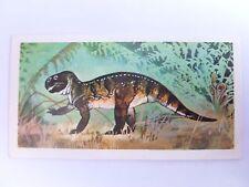 Brooke Bond Prehistoric Animals tea card 24. Psittacosaurus. Dinosaurs.