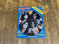 Vintage Kiss Grooves Special Magazine - No 1 1978 + Poster!