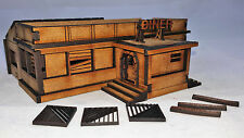 Wargaming MDF Sci Fi Fantasy 10/15MM diner bâtiment Terrain scenery