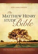 Matthew Henry Study Bible-KJV (2010, Imitation Leather) New With Box