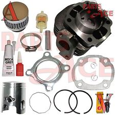 Yamaha Zuma Yw50 Yw 50 Piston Cylinder Piston Gaskets Top End Kit Set 2002-2011