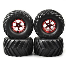 4X 1:10 Bigfoot Monster Truck Rubber Tires&Wheel Rims 135mm 03R HSP HPI RC