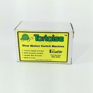 Tortoise Slow Motion Switch Machine 800-6000 NIB Model Trains Railroading All Sc