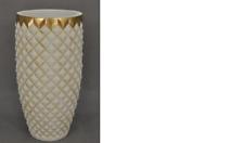 XXL Vase Tisch Dekoration Deko Vasen Antik Stil Skulptur Figur Kelch Rom 0901
