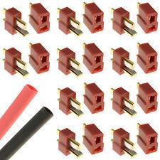 10 x PAIRS Deans T Plug Gold RC Connectors