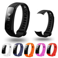 Replacement Band Silicone Rubber Sports Bracelet Watch Strap For Huawei Honor 3