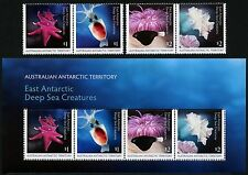 AAT Australische Antarktis 2017 Tiere der Tiefsee Fisch 247-250 Block 20 MNH