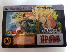 Carte Dragon Ball Z DBZ Carddass Fukkoku Design Collection Part 2 #422 Prisme