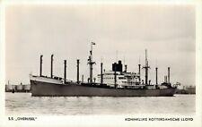 Ship S.S. Overijssel Koninklijke Rotterdamsche Lloyd Nautica 03.03