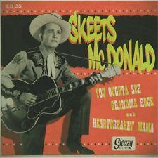 Skeets McDonald ( with Eddie Cochran ) ( sp ) You oughta see Grandma Rock - 45