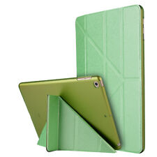 Silk Leather Magnetic Origami Smart Case Cover Stand For iPad 2 3 4 Air Mini Pro