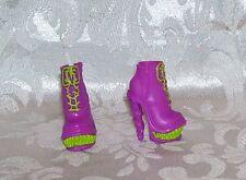 New Mattel Monster High Goth Purple Green Teeth Shoes Also Fits Stardolls