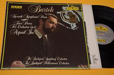 BARTOK LP KOSSUTH SINFONIC POEM TOP CLASSICA NM SEFEL RECORDS TELDEC DIGITAL !