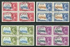 Bahamas 1935 Silver Jubilee SG141/4 Fine Used BLOCKS OF 4