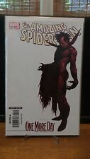Amazing Spiderman #545 One More Day Part 4 of 4 Djurdjevic Variant Cover