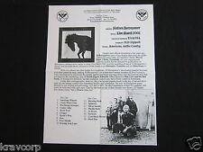 SIXTEEN HORSEPOWER—2008 PRESS RELEASE