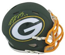 Packers Davante Adams Authentic Signed Amp Speed Mini Helmet BAS Witnessed