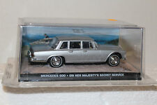 James Bond 007 Mercedes Benz 600 On Her Majesty's Secret Service Diorama