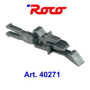 ROCO 40270 Kurz-Kupplungen H0, 2 Paar mit Vorentkupplung für Normschacht. 40271
