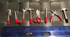 """FIG-TOOL: 1/12 scale die-cast metal 8 pcs Tool Set for 6"""" ~ 8"""" action figures"""