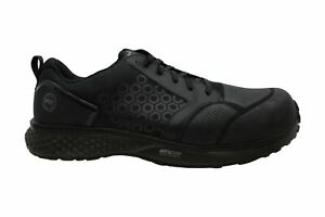 Timberland PRO Men's Reaxion Athletic Composite Toe Work, Black/Grey, Size 13.0
