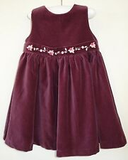 New W/Tags Gymboree Classic Holiday Velveteen Dress ~ Girl's Size 18-24M