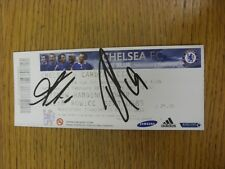 13/02/2010 Autographed Ticket: Chelsea v Cardiff City [Fa Cup] - Hand Signed By
