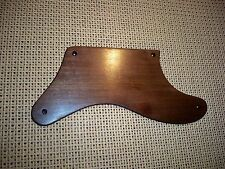 AFRICAN WALNUT WOOD PICKGUARD FOR USA/MEXICO FENDER CABRONITA BASS