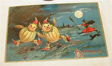 Antique-Tucks-Halloween Post Card*-Unposted, Embossed
