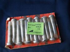 Twelve (12) Lycoming NEW 74644 Rod Bolts (Contained in 1-12 pack)
