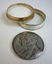 1914 Belgian Relief Medal Belgium WWI in Case