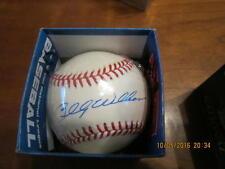 Billy Williams Signed Baseball william white OAL baseball