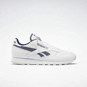 Reebok Men/'s Classic Leather POP Fashion Sneaker Skull Grey//White 11 M US NIB