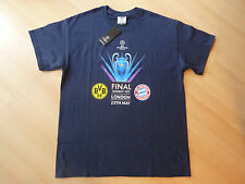 "T-Shirt FC Bayern München Champions League Sieger Wembley London2013 FCB BVB ""M"""