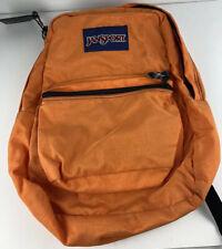 Jansport Backpack Neon Orange  -Free Shipping     B7