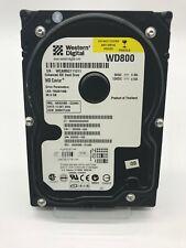 """Western Digital Caviar 80GB 3.5"""" IDE Hard Drive WD800BB-22JHA0"""