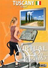 TUSCANY ITALY VIRTUAL WALK WALKING TREADMILL WORKOUT DVD AMBIENT COLLECTION NEW