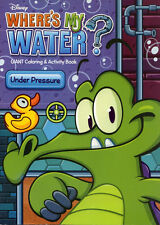 Wheres My Water? coloring book RARE UNUSED