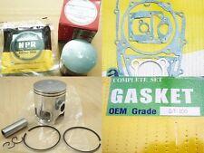 New listing Yamaha Dt100 Mx100 Piston Ring & Gasket Noboru Carburetor Set Size 1.00 Japan