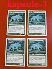 4x Lone Wolf   8th Edition   MTG Magic Cards