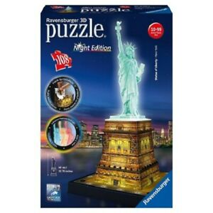Ravensburger 3D Jigsaw Puzzle - Statue of Liberty New York Edition - 125968