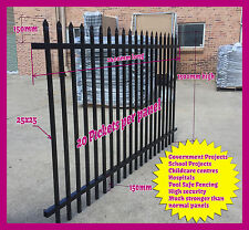 1500mm High Security Fence,Crimp top fencing, School Fence - $125.00