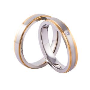 Verlobungsringe Freundschaftsringe Trauringe Paarringe Gold Silber Zirkonia 21