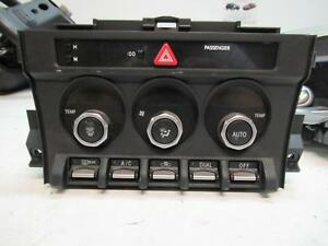 TOYOTA 86 HEATER/AC CONTROLS ZN6, DUAL ZONE CLIMATE CONTROL TYPE, GTS/BLACKLINE,