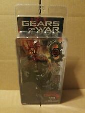 NECA Gears of War Headshot Locust Drone Action Figure Real Metal COG Tags