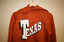 VINTAGE 80's UT TEXAS LONGHORNS Hoodie Sweatshirt Mens Small S Austin University